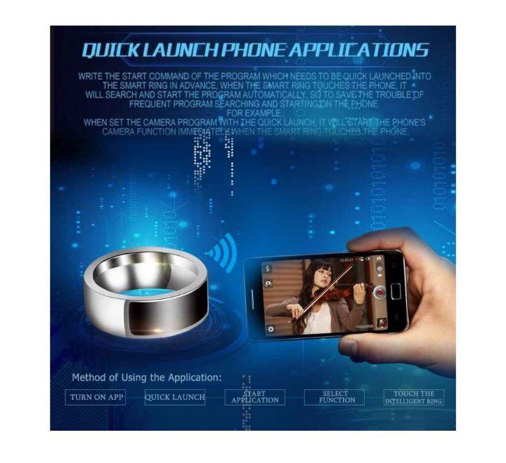 David Kabel Smart NFC Ring for Smart Phones