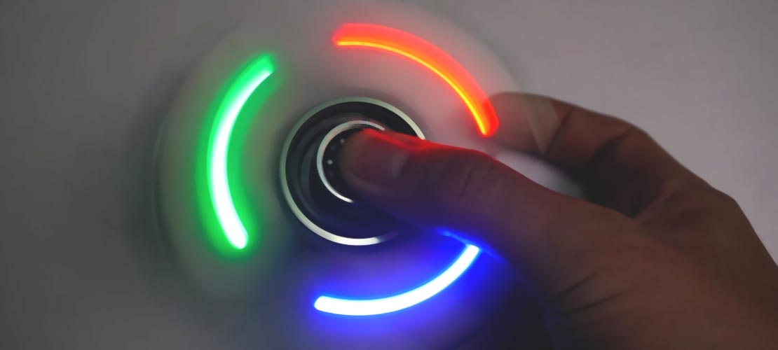Electronic Fidget Spinners